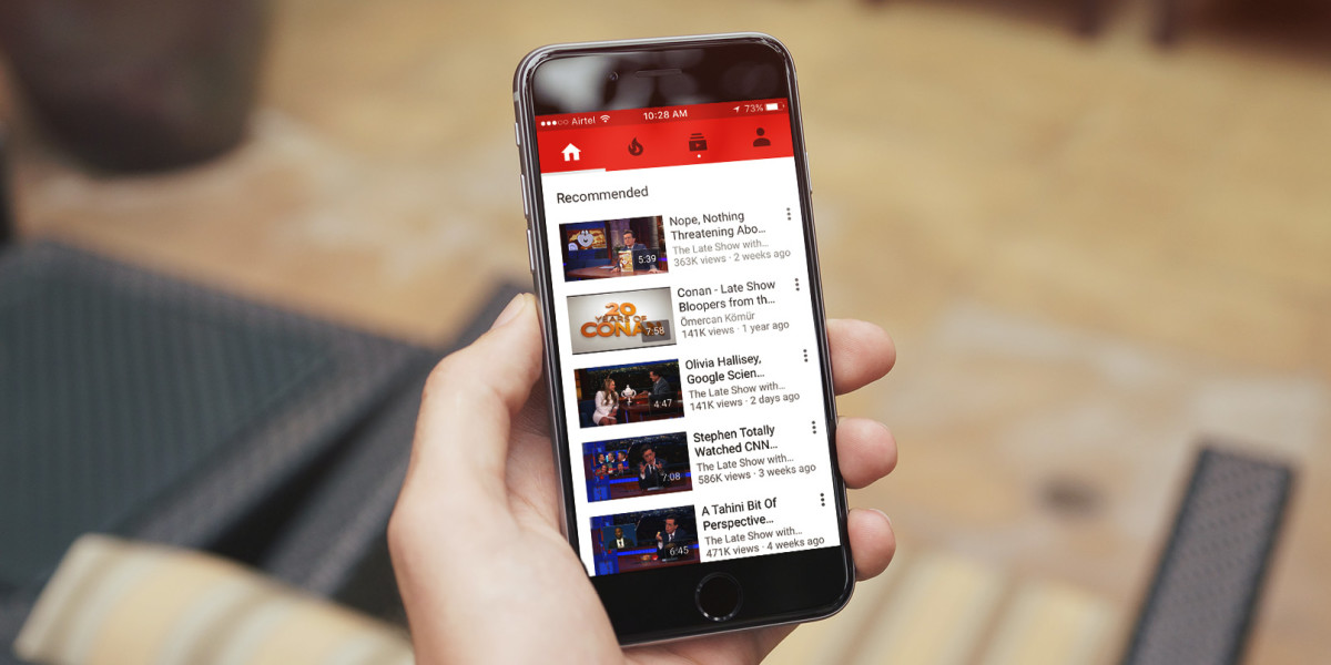 Aplicatia Youtube pentru iPhone