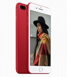 iPhone 7 și iphone 7 plus red backfront glassgsm service gsm suceava