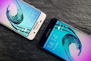 Samsung Galaxy A3 (2016) interfata