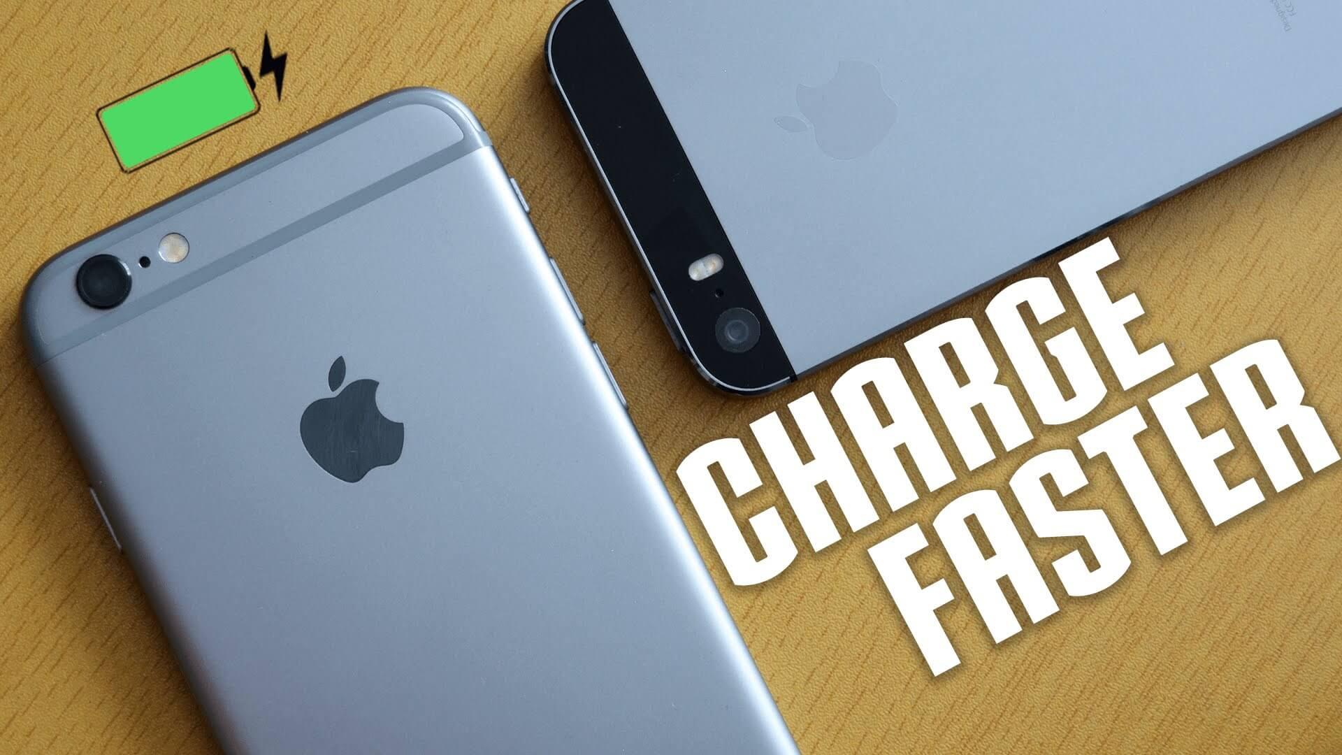 Cum să încarci iPhone-ul mai repede