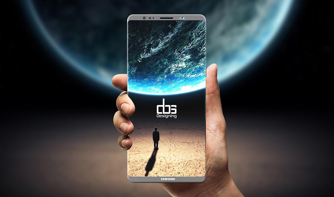 Ecran imens și diagonală de 6.4 inch – Samsung Galaxy Note 8