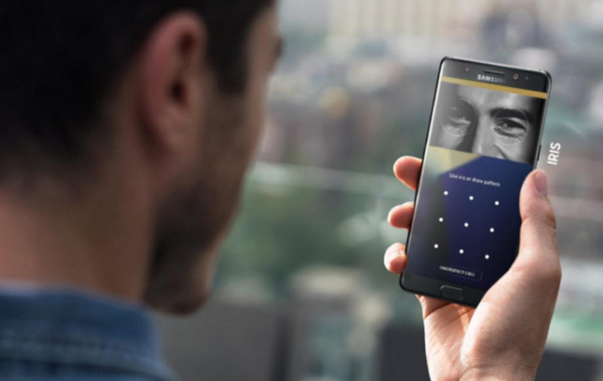 Samsung Galaxy S9 – noul scanner de recunoaștere a irisului